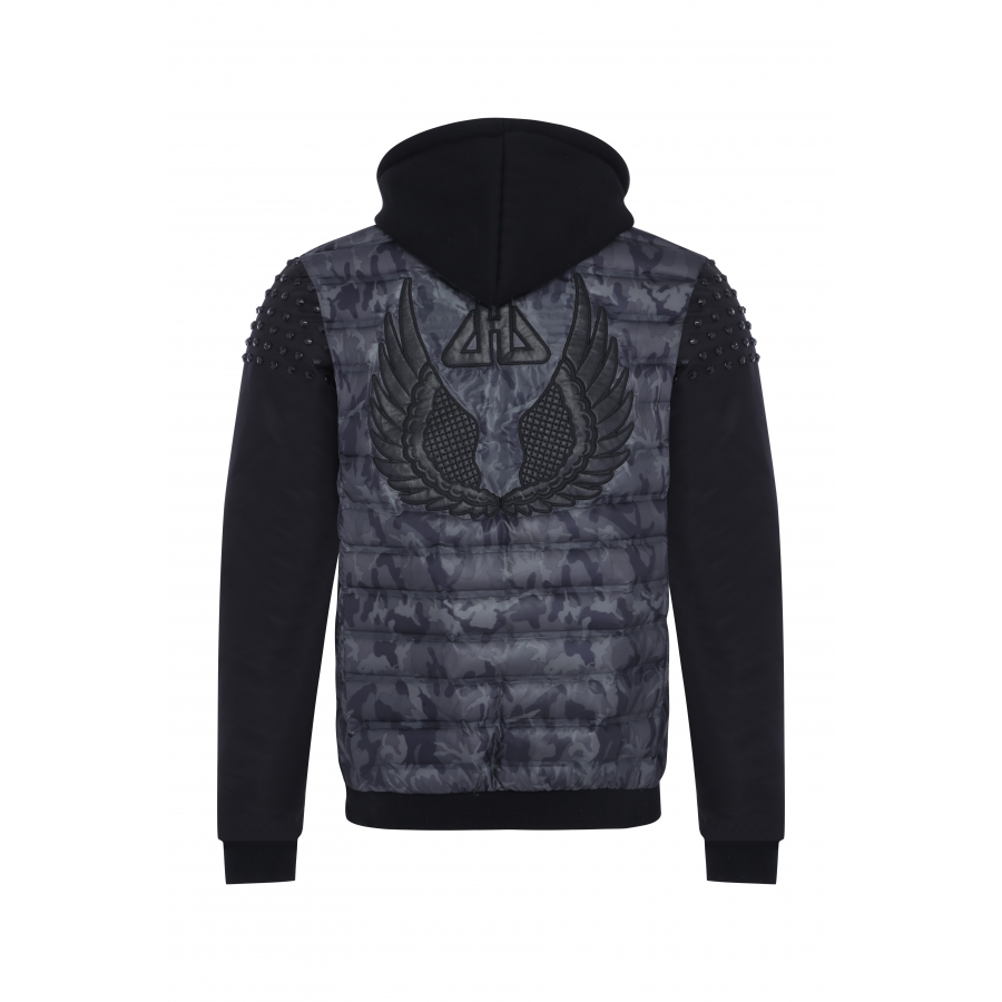 Jacket Powell Camouflage Grey