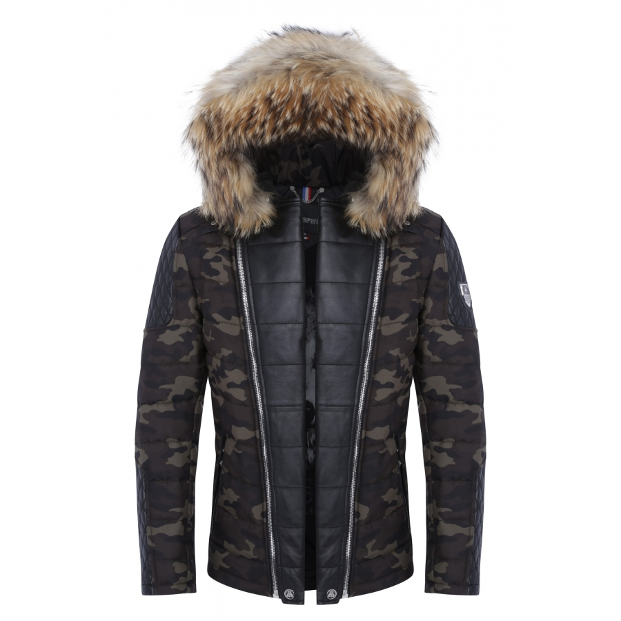 Down Jacket Carlton Camouflage