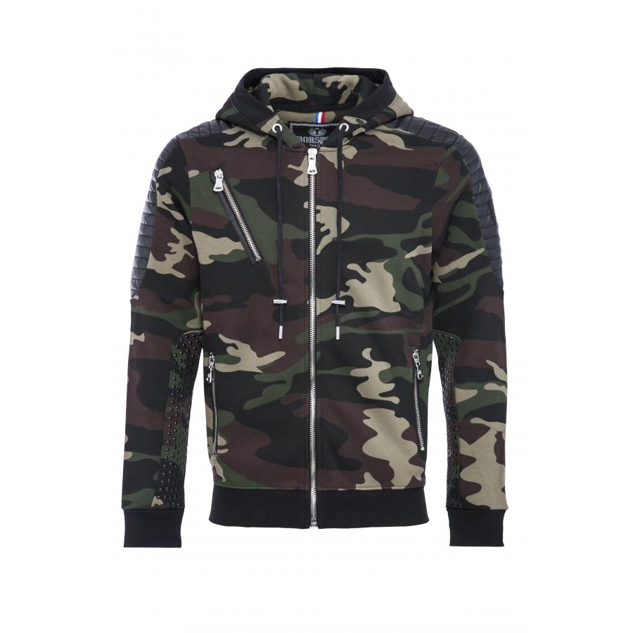 Sweat Tomas Camouflage Kaki