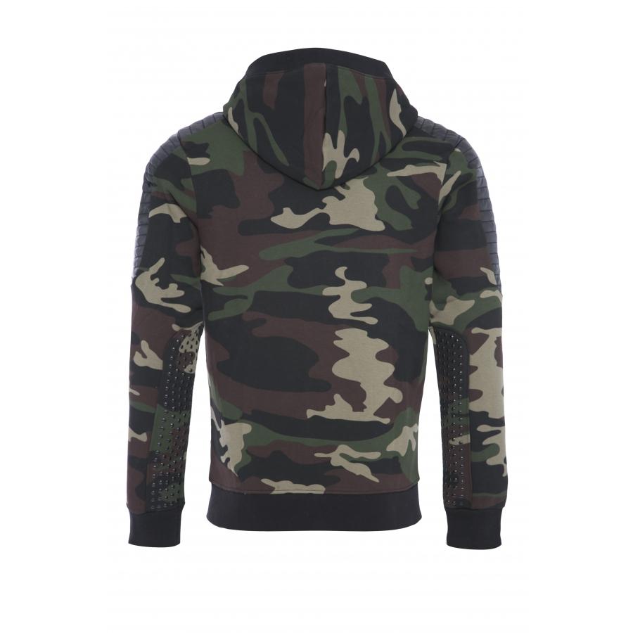 Sweat Tomas Camouflage Khaki