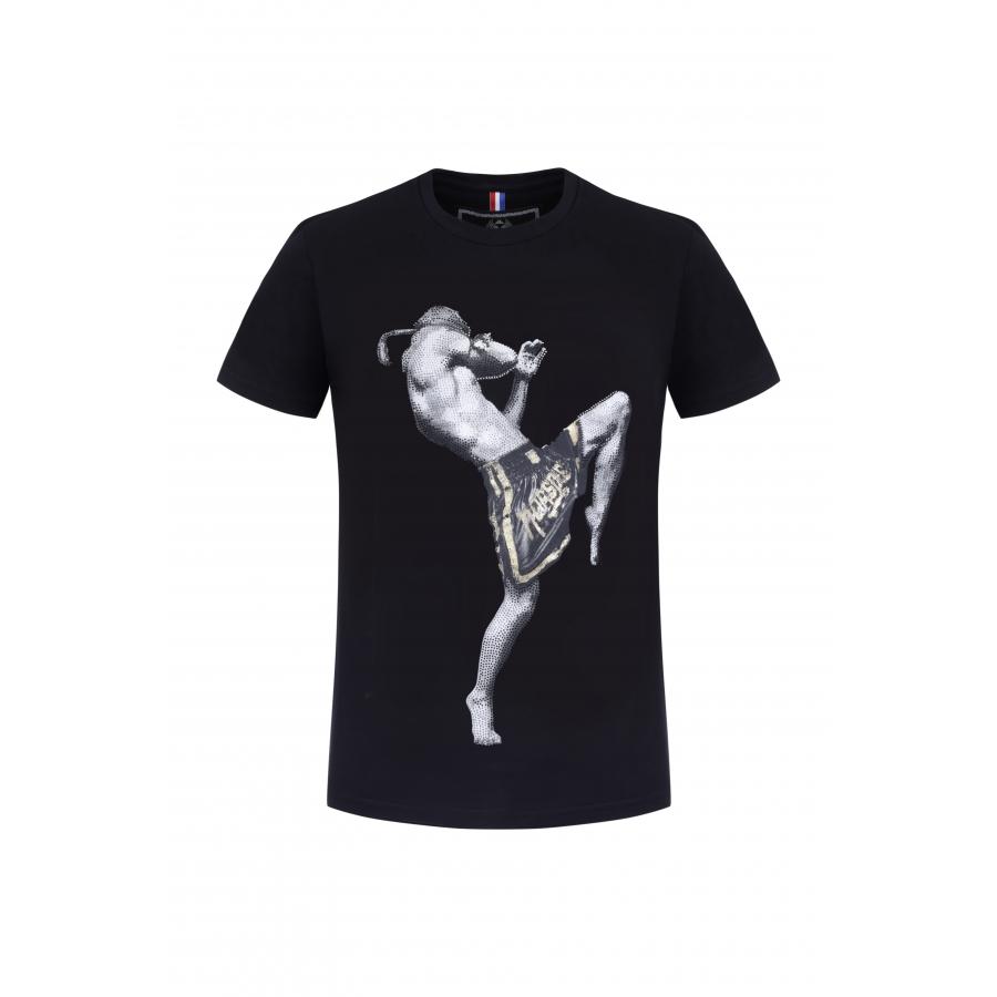 T-shirt Kick Black