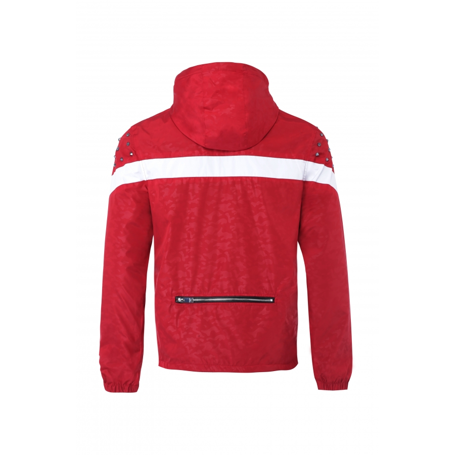 Windbreaker Tracker Red