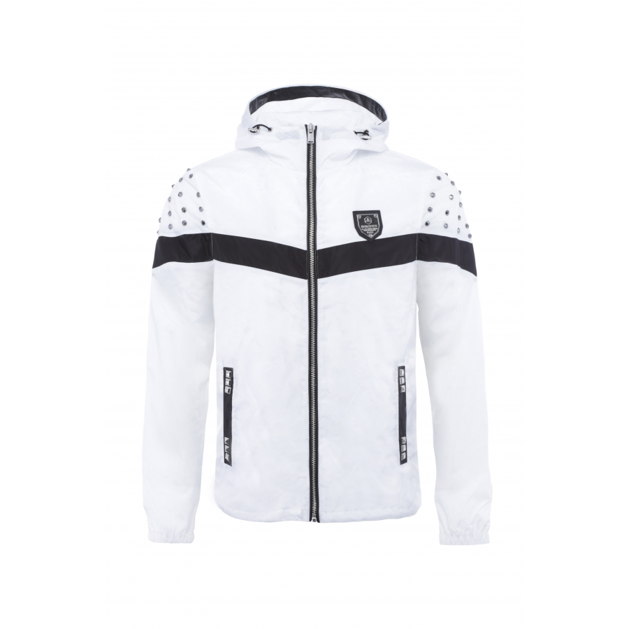 Windbreaker Tracker White