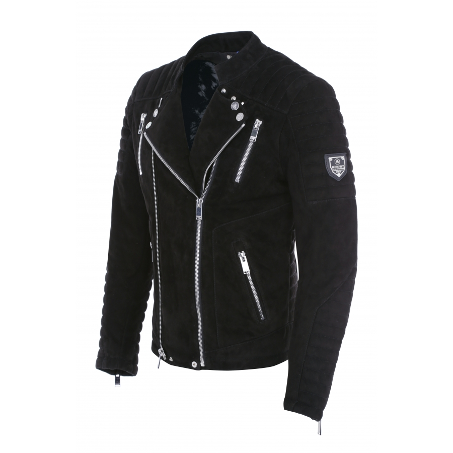 Jacket Manoir Suede Black