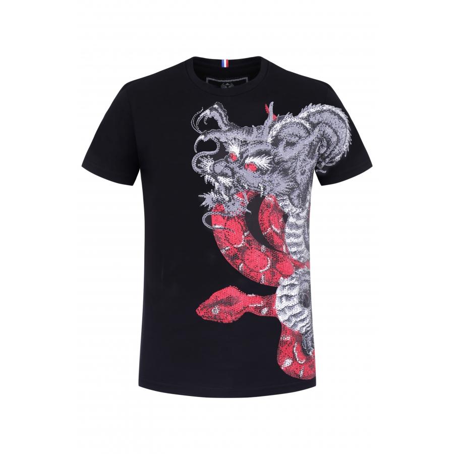 T-shirt Kaa Black