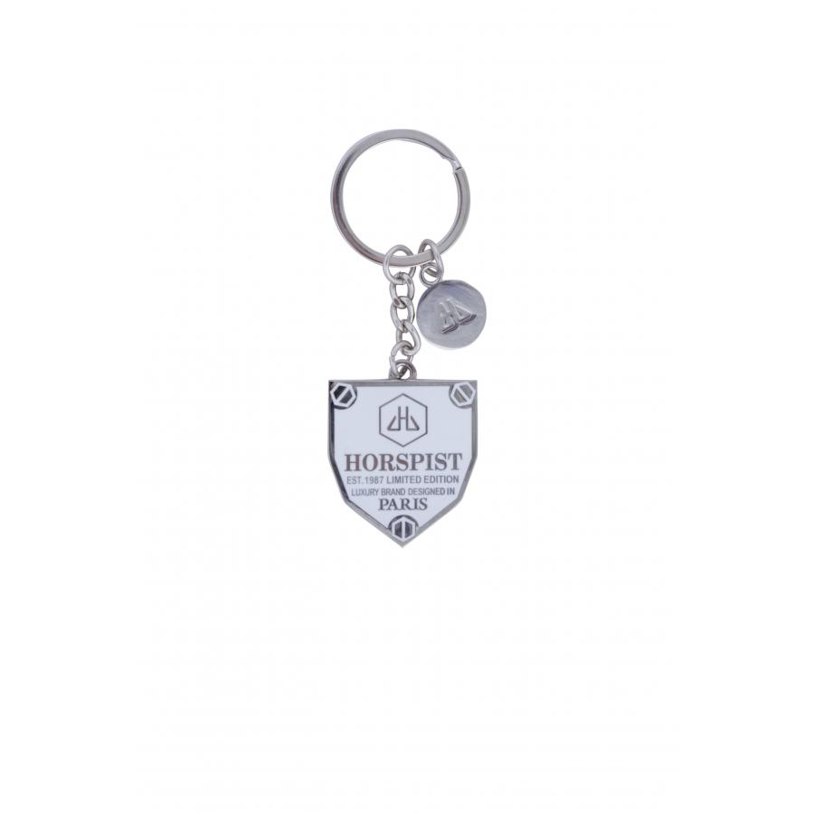 Porte-clés Logo Blanc
