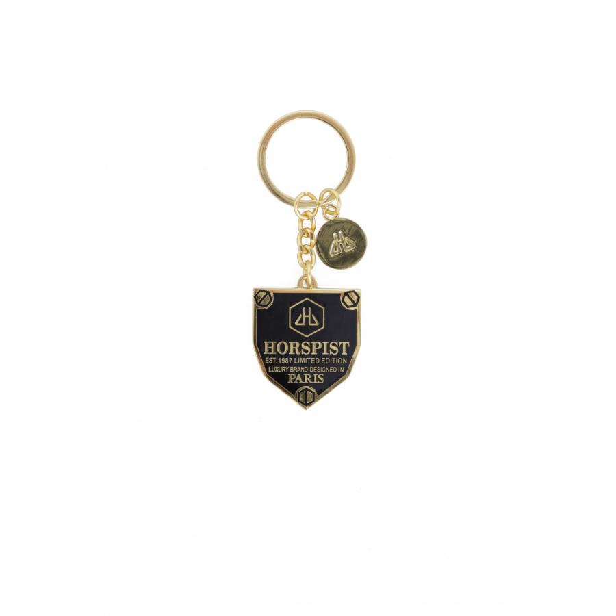 Porte-clés Logo Noir Or