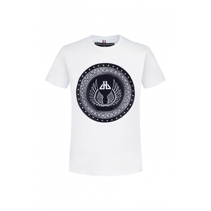 T-shirt Sphere Blanc