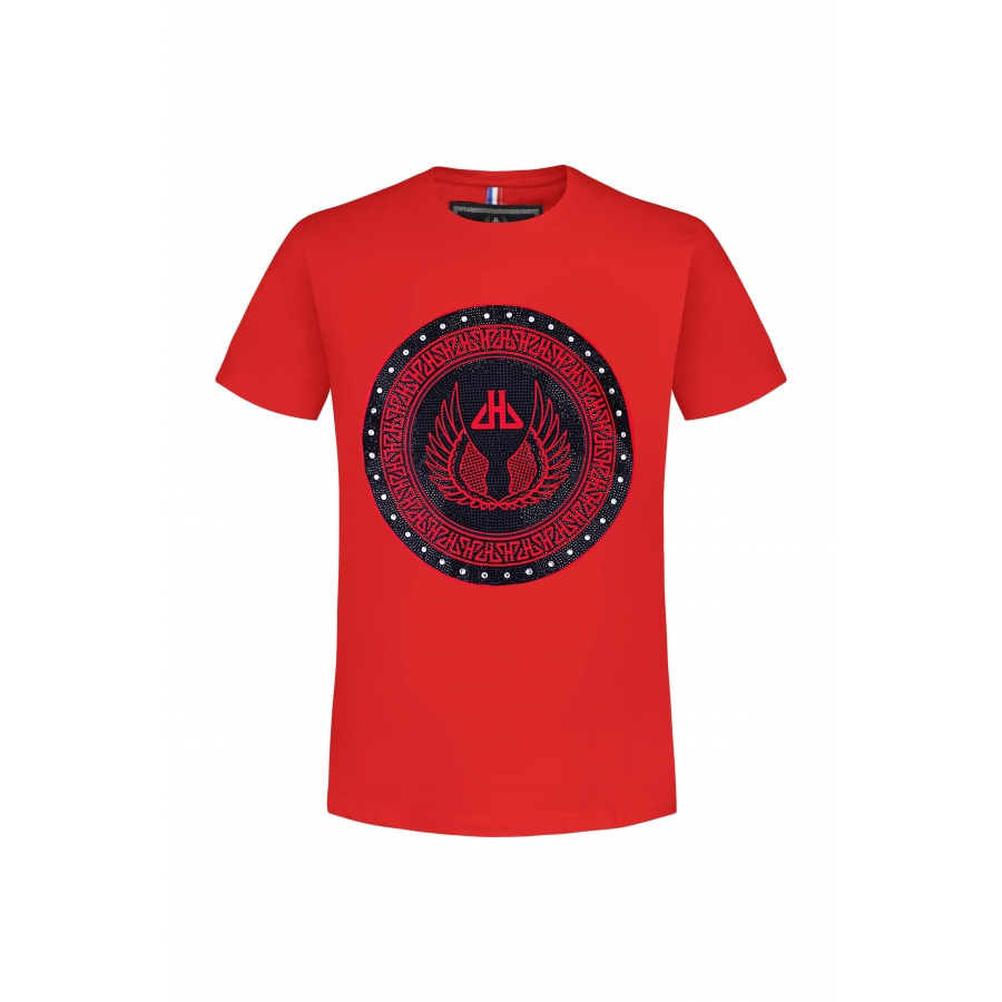 T-shirt Sphere Rouge