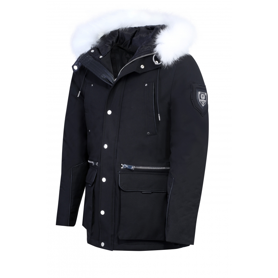 Down Jacket Kravitz Black & White
