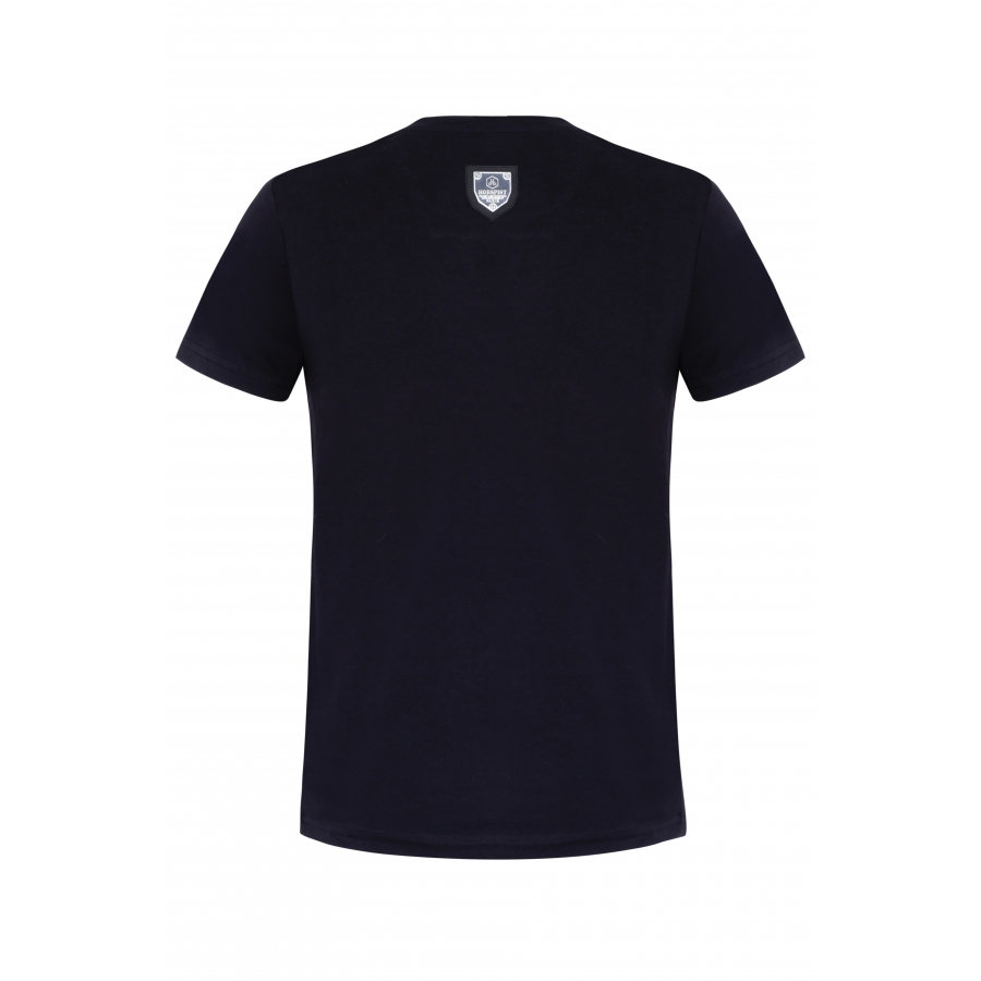 T-shirt Derby Silver