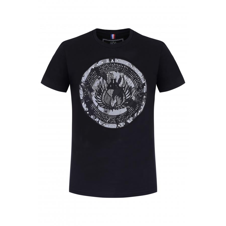 T-shirt Derby Argent