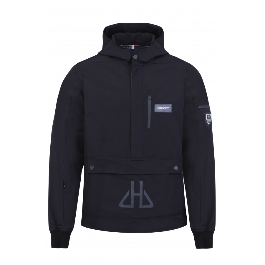 Windbreaker Kangourou Black