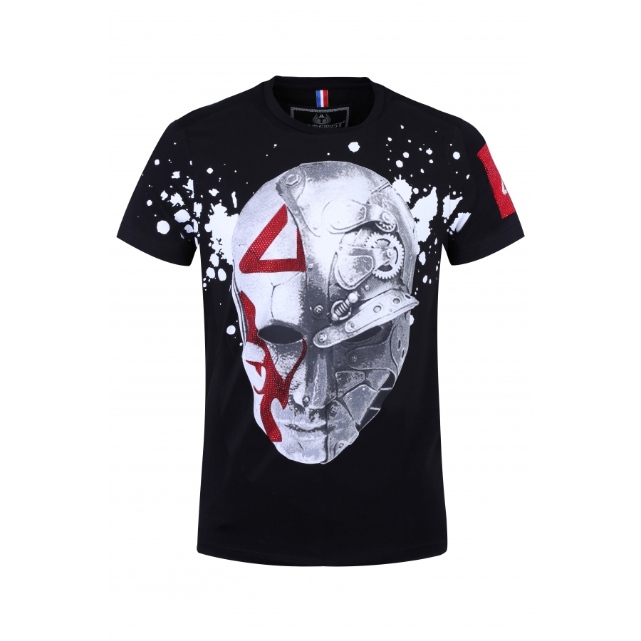 T-shirt Head Black