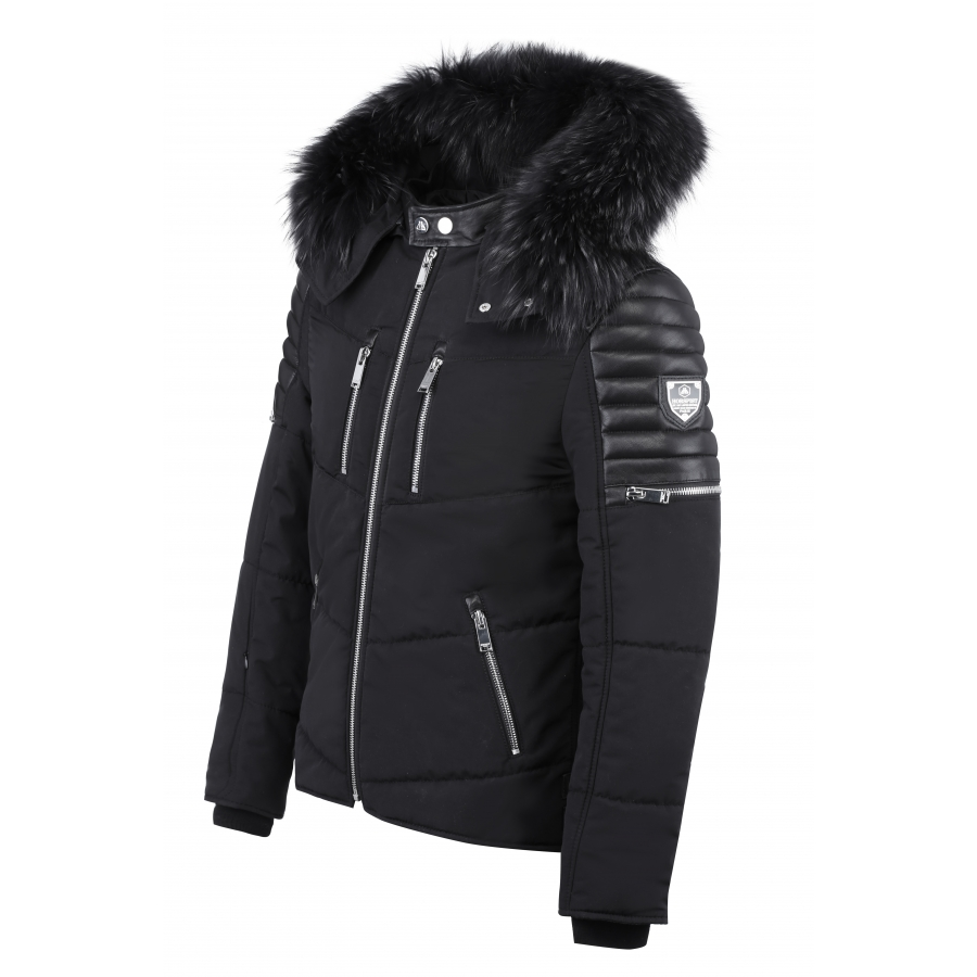 Down Jacket Carbone Black