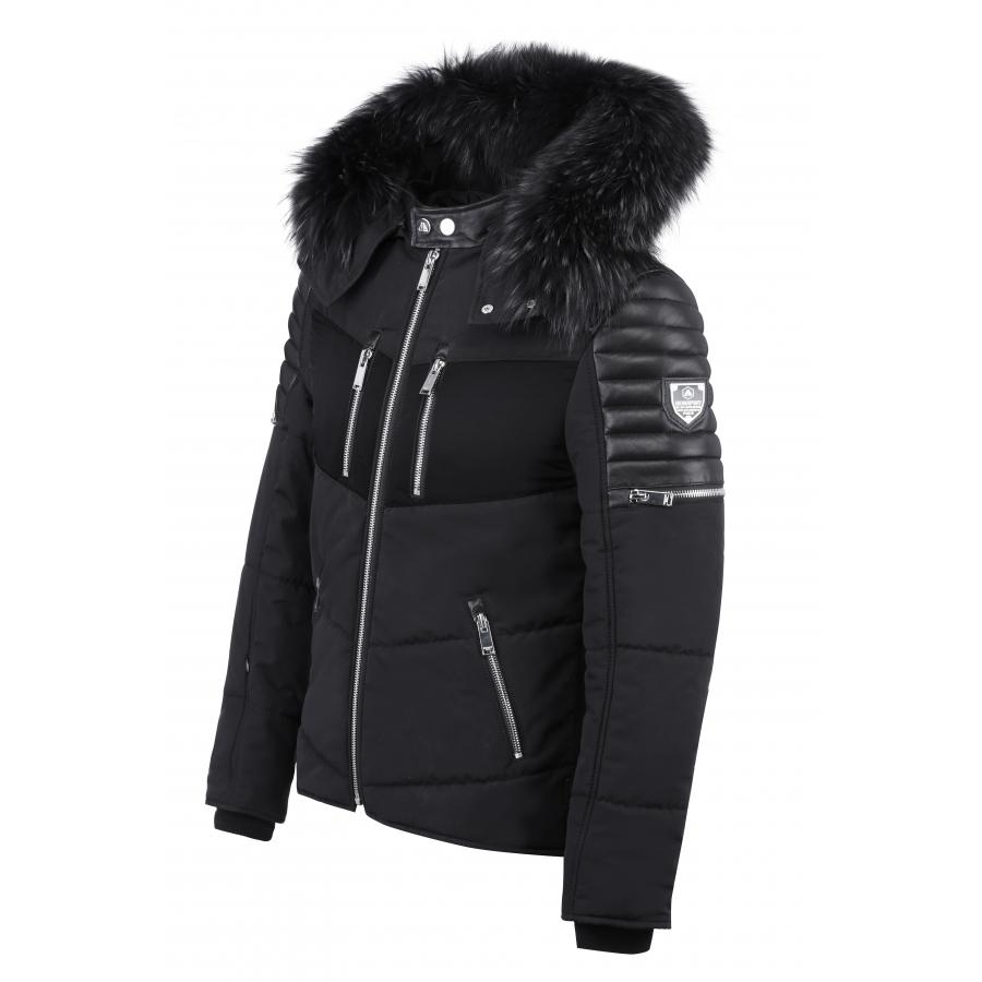 Down Jacket Carbone Sport Black