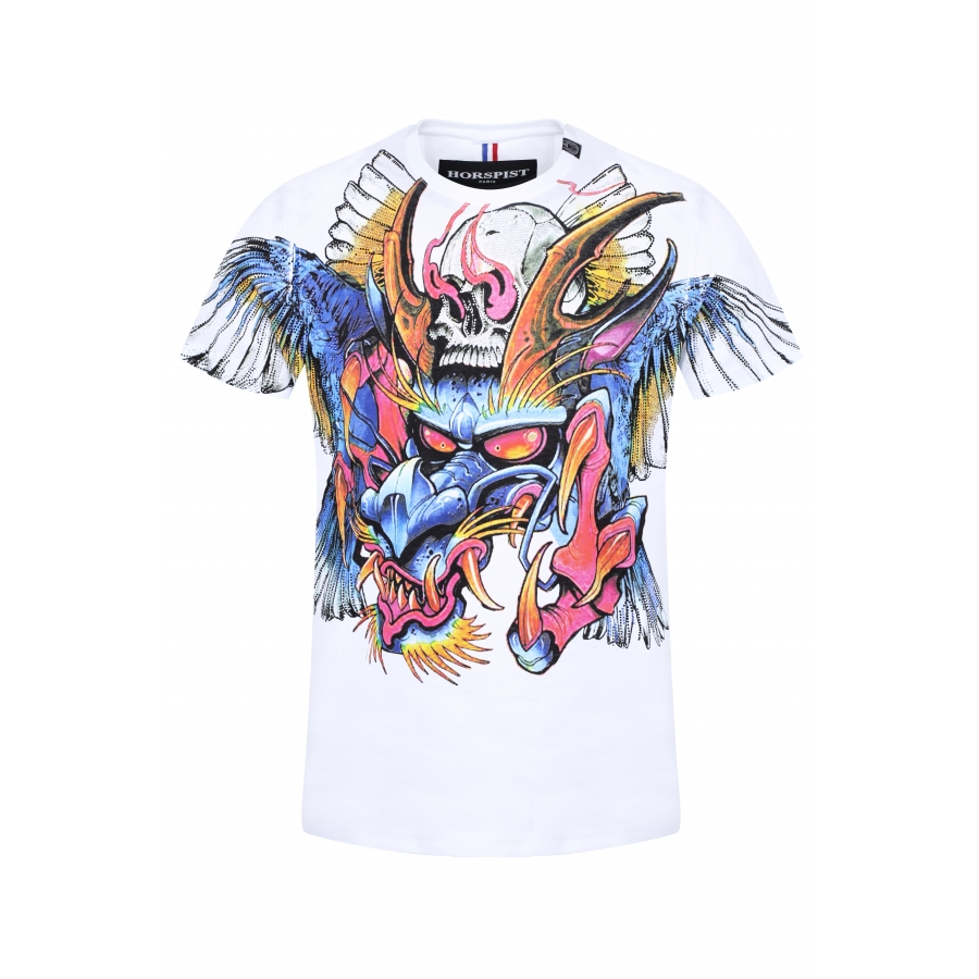 T-shirt Jeckyll Blanc
