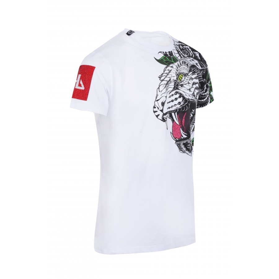 T-shirt Guetta White
