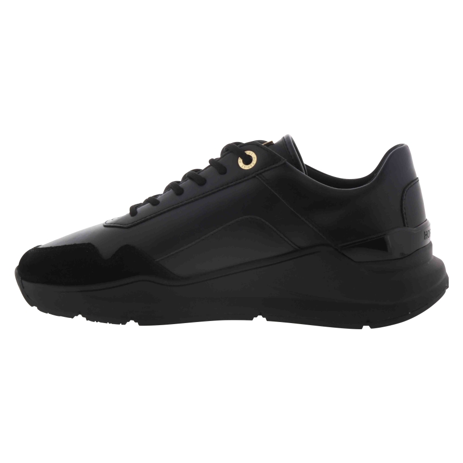 Sneakers Concorde Noir & Or
