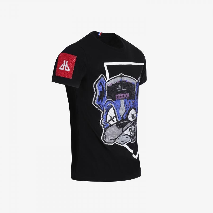 T-shirt Luis Noir