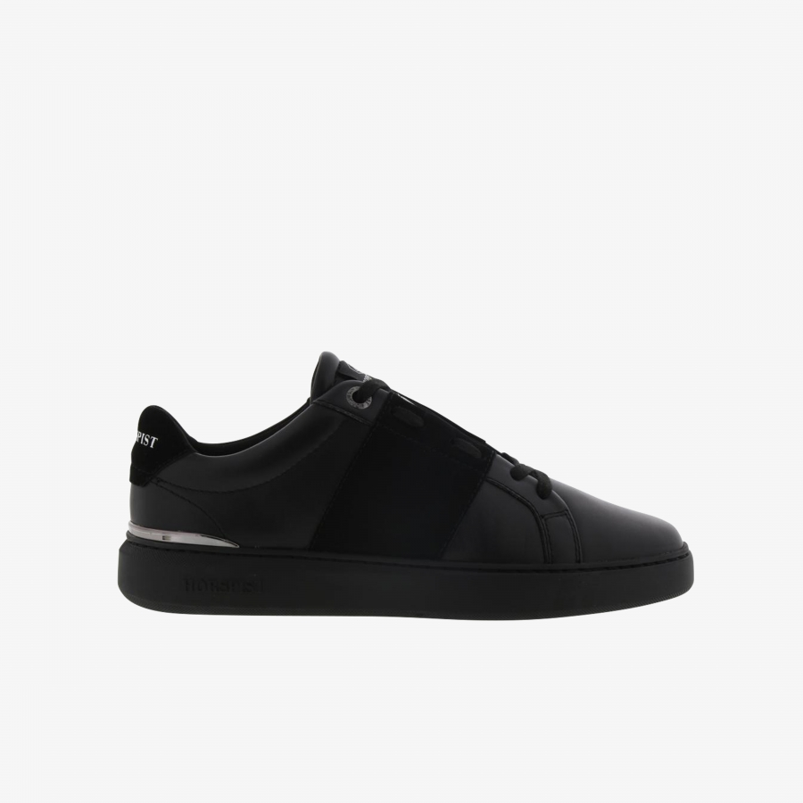 Sneakers Passy Daim Noir & Or