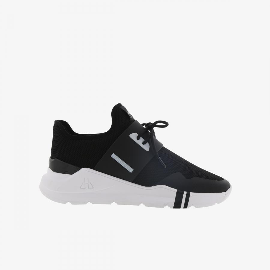 Sneakers Auteuil Noir & Blanc