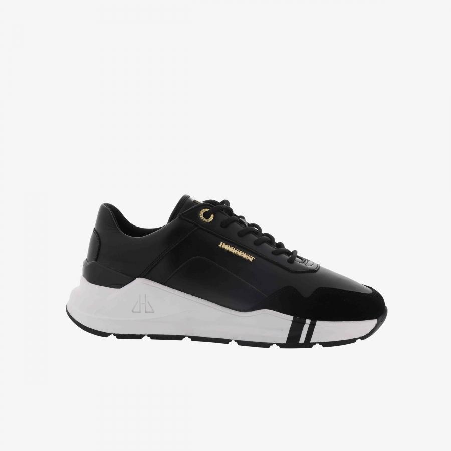 Sneakers Concorde Noir & Blanc