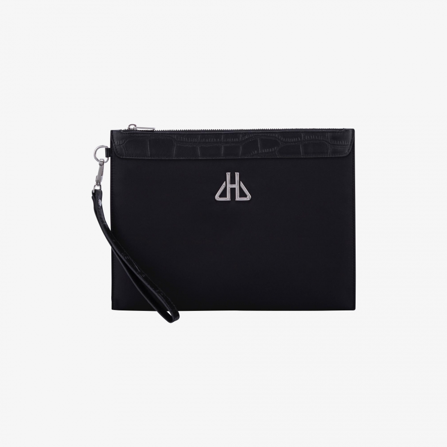 Pochette New York Nylon Noir