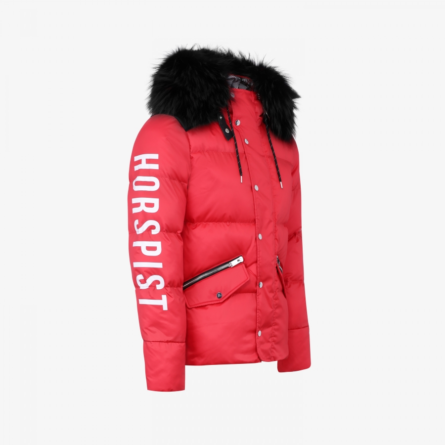 Down Jacket Santiago Red