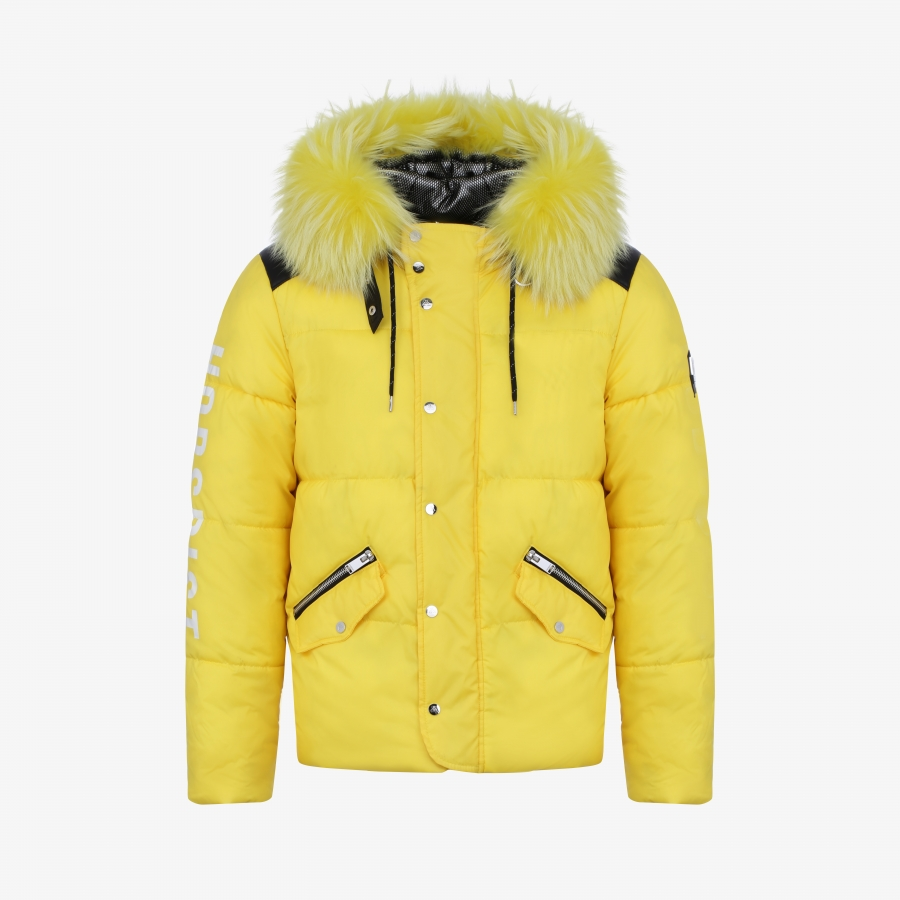 Down Jacket Santiago Yellow