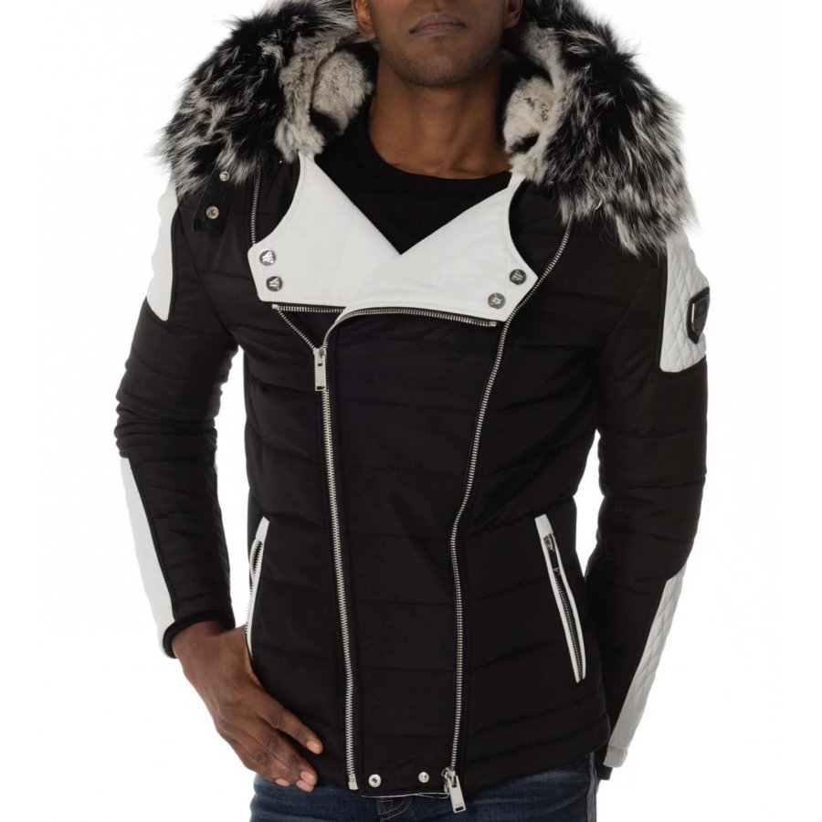 Down Jacket Carlton Rex White