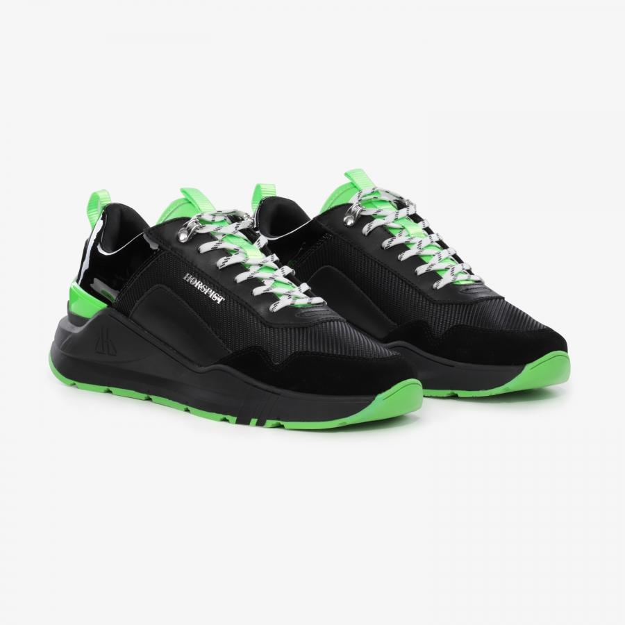Sneakers Concorde Noir et Vert