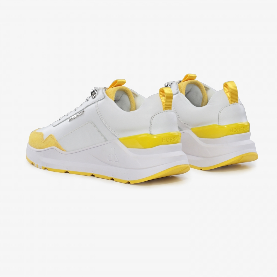 Sneakers Concorde Blanc et Jaune