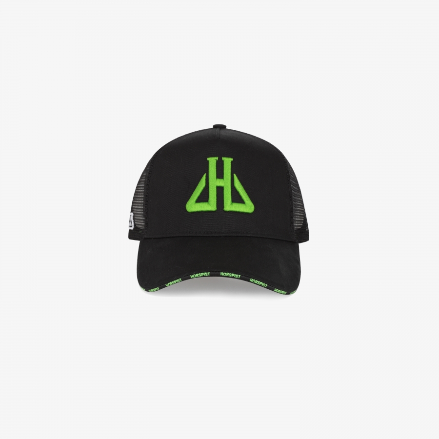 Casquette Jupiter Black and Green