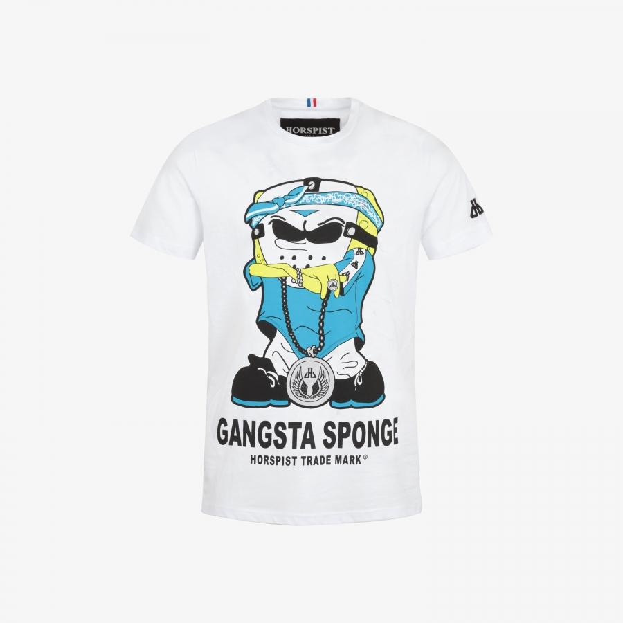 T-shirt Sponge White