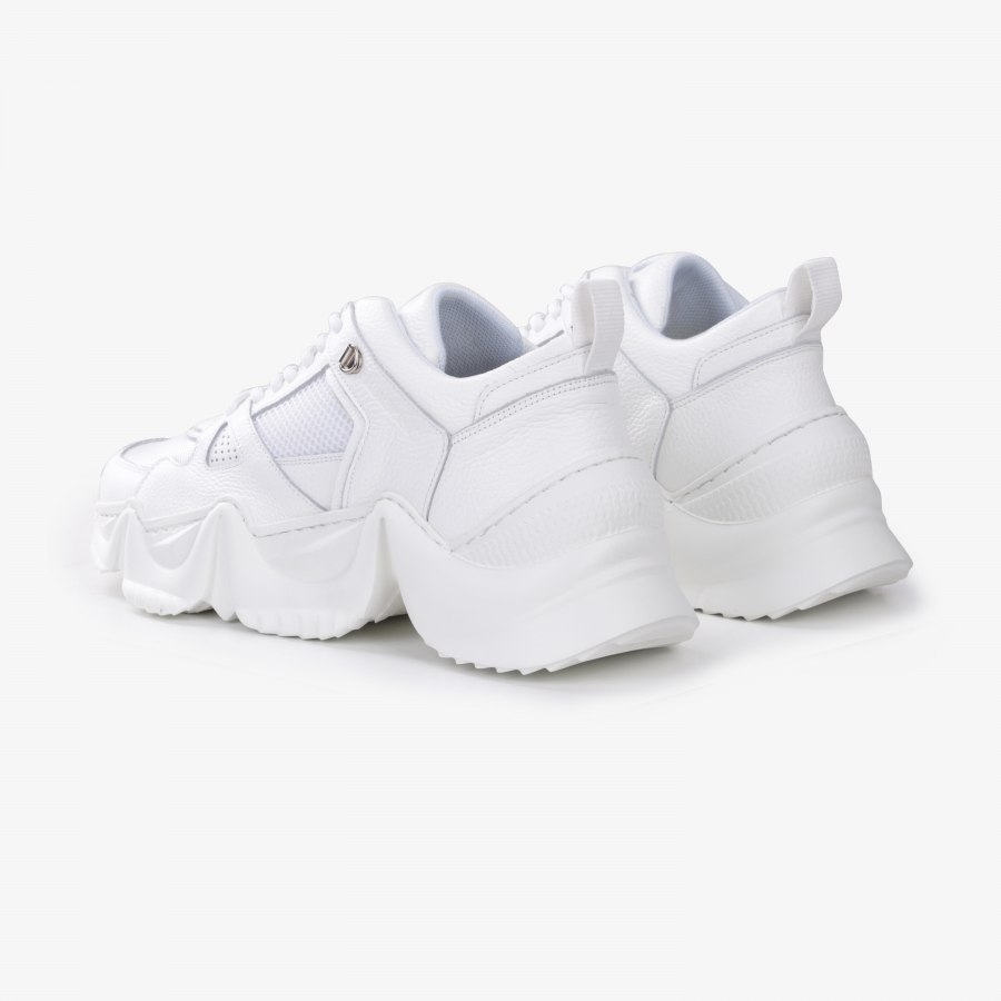 Sneakers Eiffel Full Blanc