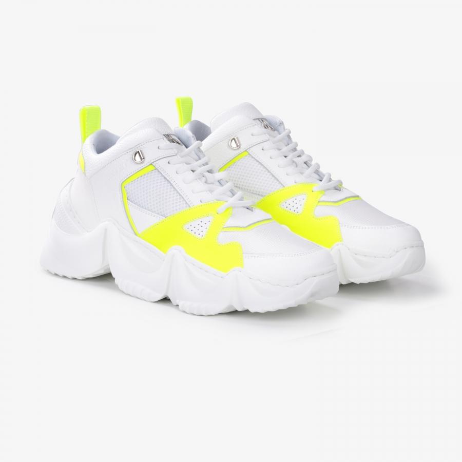 Sneakers Eiffel Blanc et Jaune