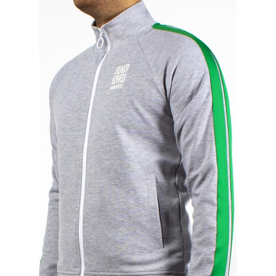 Sweat Michigan Grey and Green