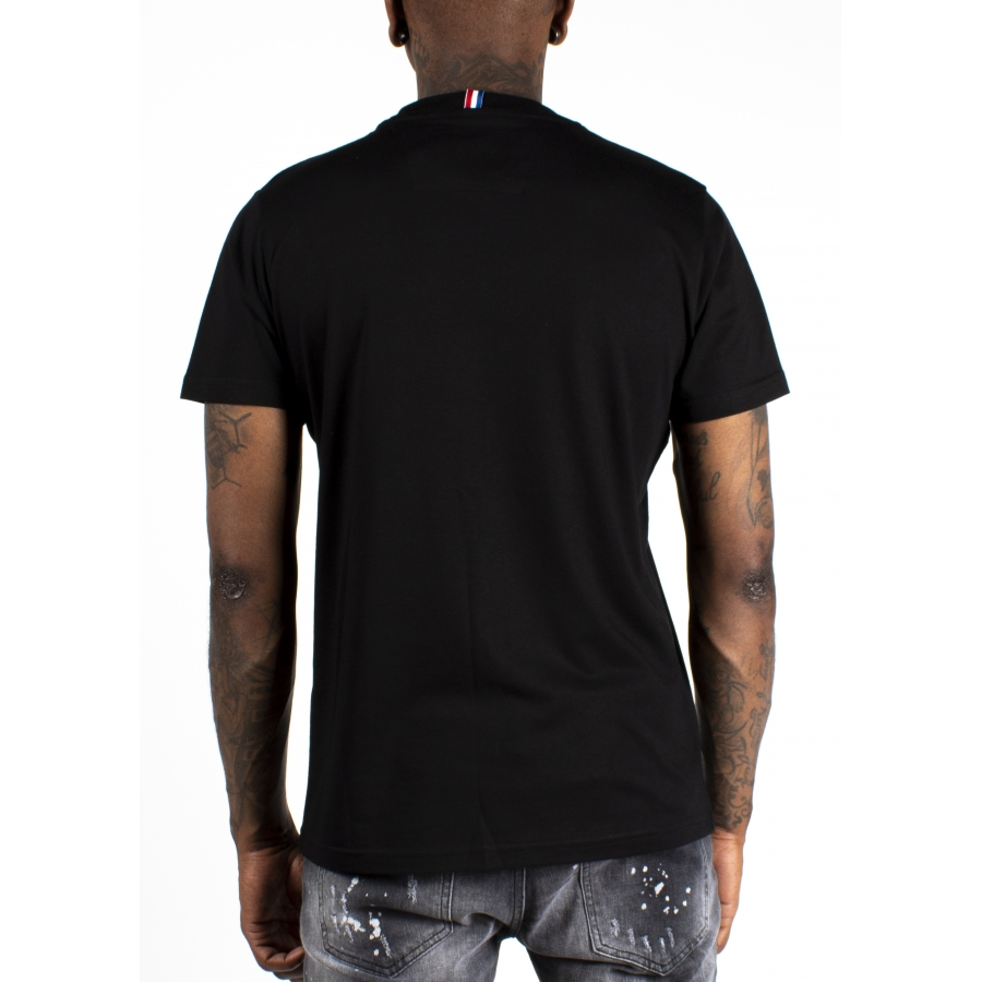 T-shirt Crown Noir