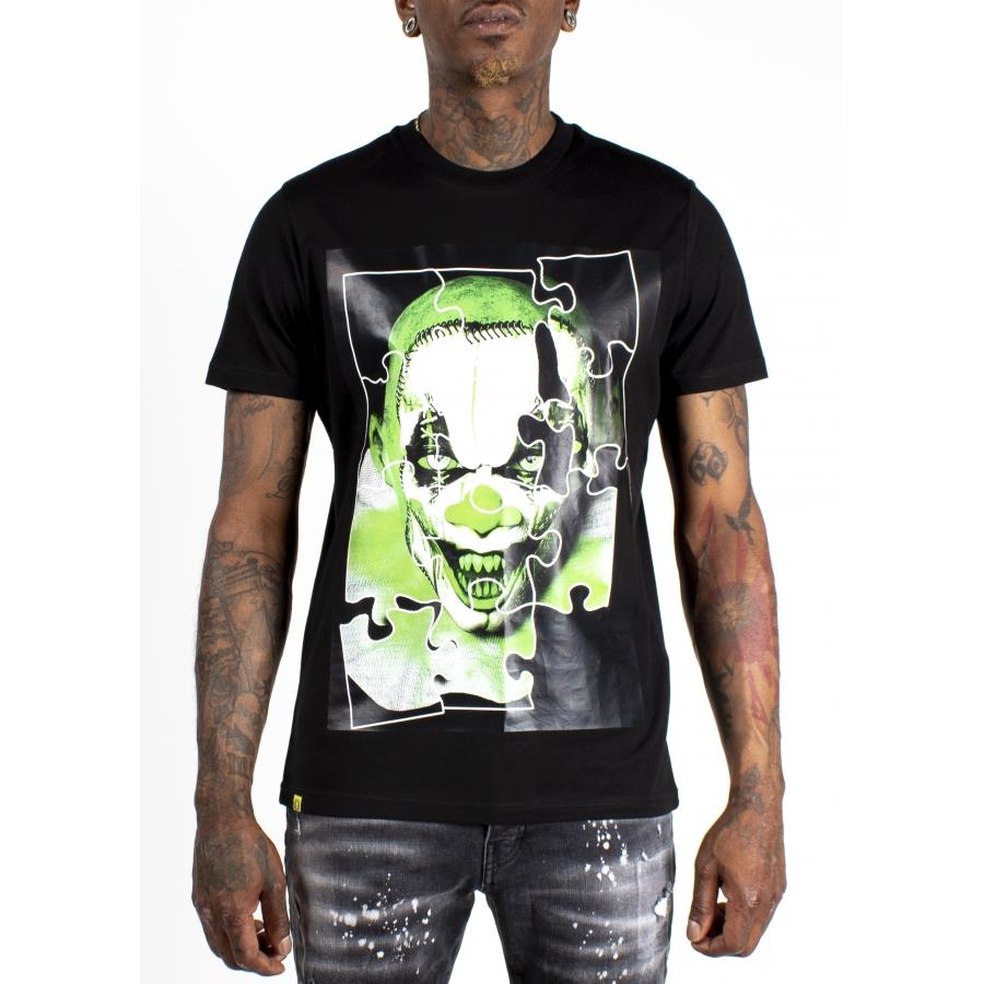 T-shirt Puzzle Black