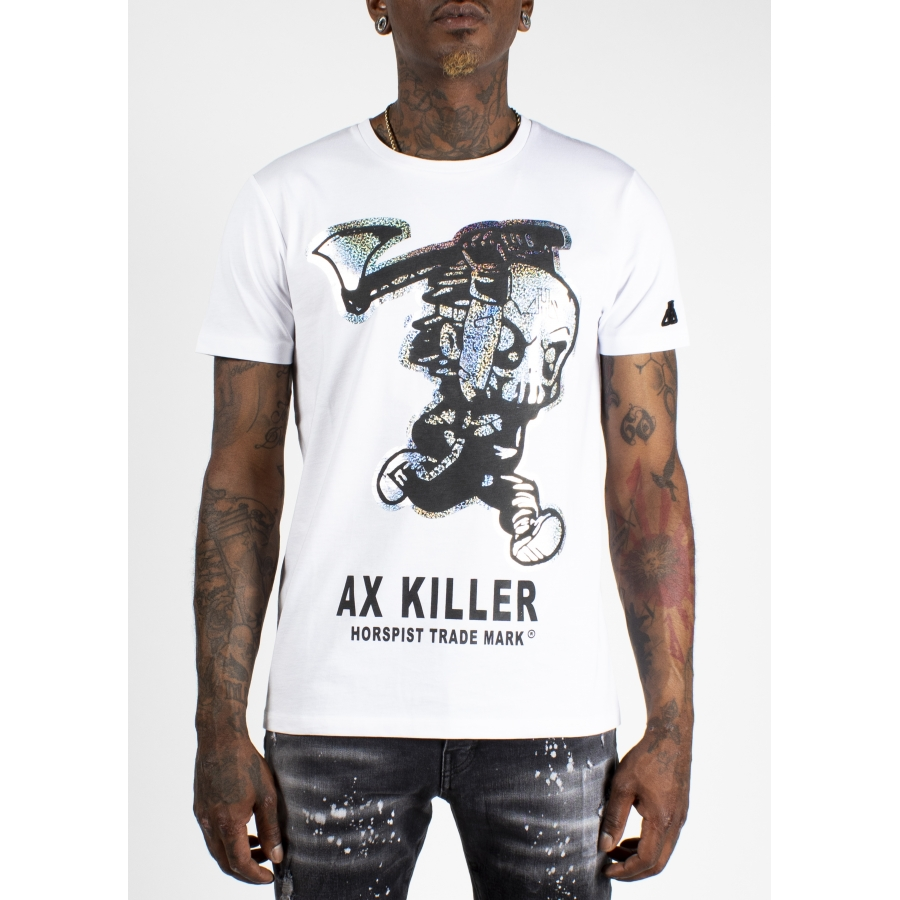 T-shirt Ax White