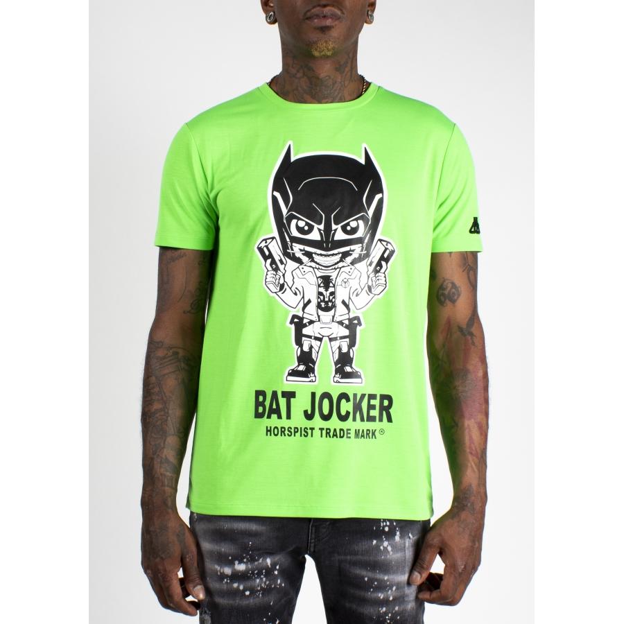 T-shirt Bat Vert