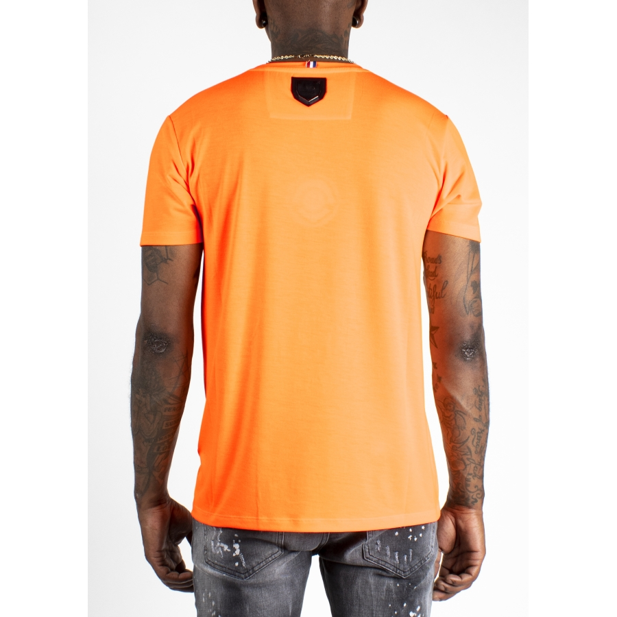 T-shirt Bat Orange