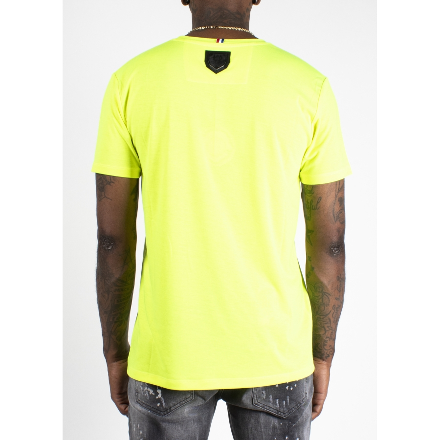 T-shirt Bat Jaune