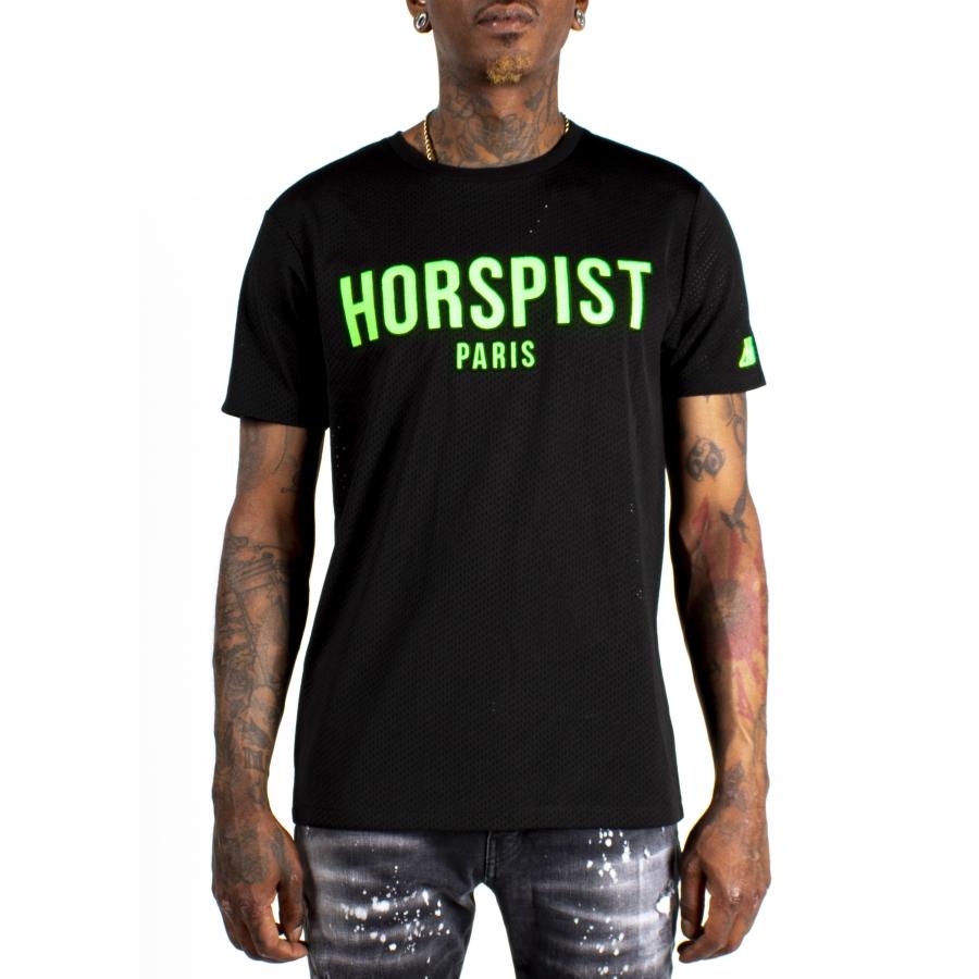 T-shirt Frog Noir et Vert