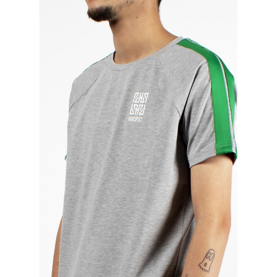 T-shirt Utah Gris et Vert