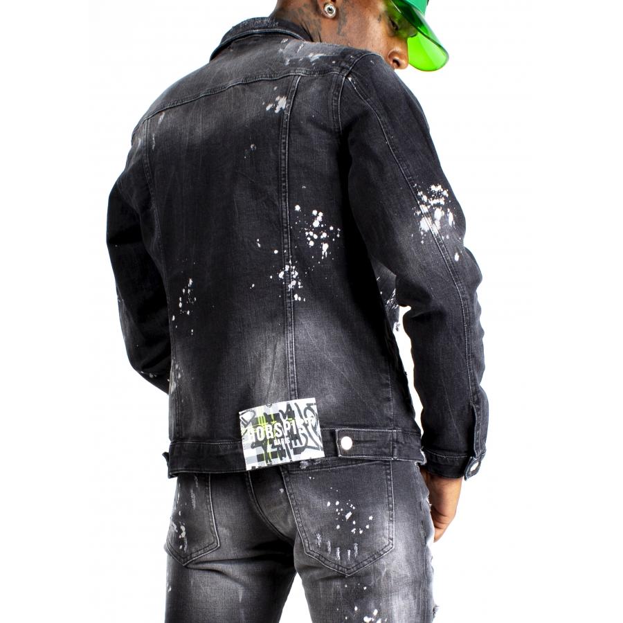Jacket Jean Rivers Black