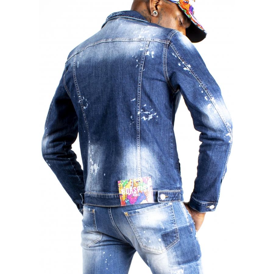 Jacket Jean Hills Blue