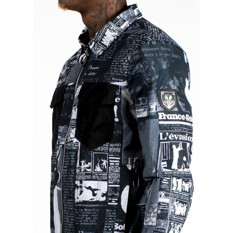 Jacket Dali Black