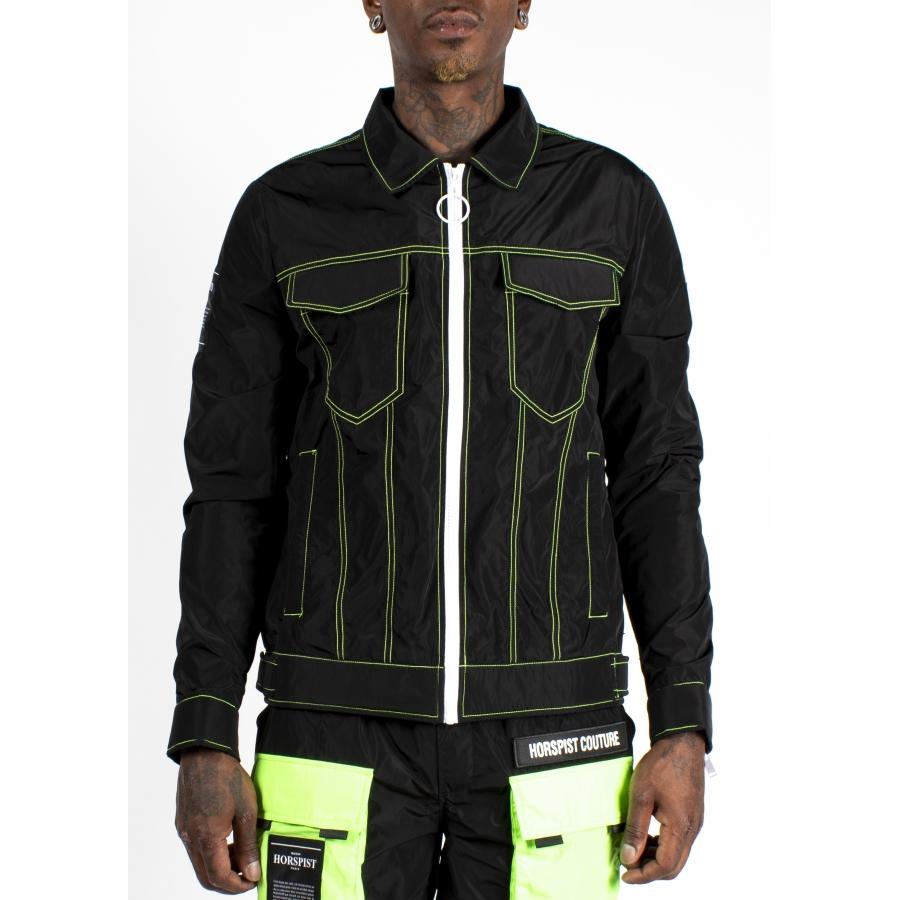 Jacket Dali Full Black